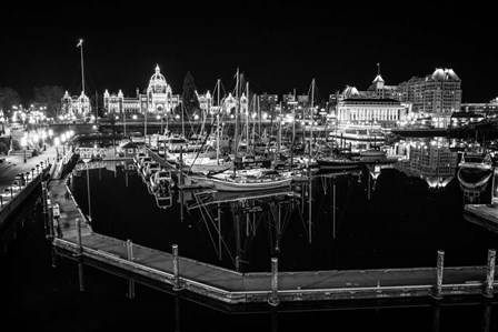 Victoria Inner Harbour by Tim Oldford art print