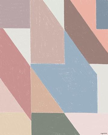 Chalk Pattern by Kyra Brown art print