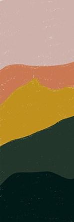 Terracotta Mountains II by Kyra Brown art print