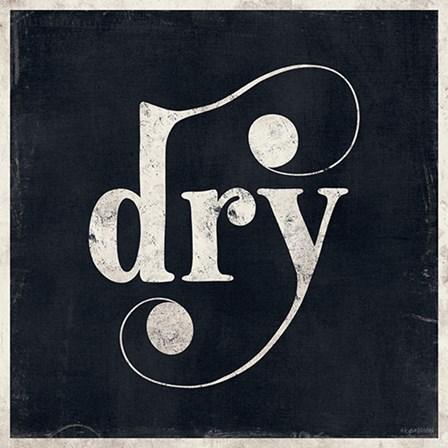 Dry by Kyra Brown art print