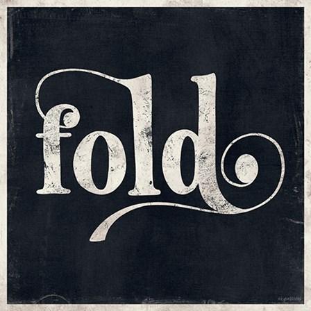 Fold by Kyra Brown art print