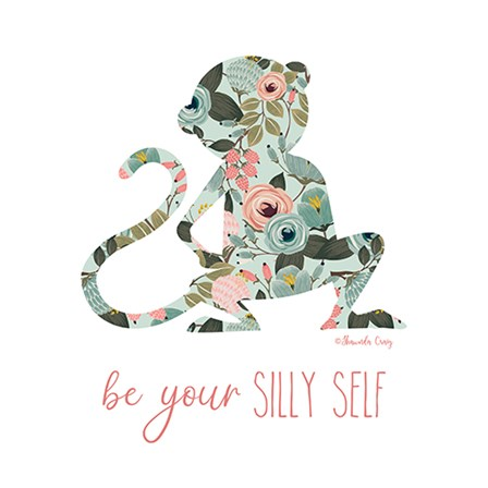 Be Your Silly Self by Shawnda Craig art print