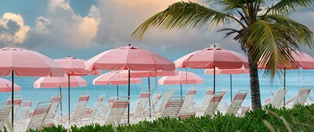 Umbrellas by Dennis Frates art print