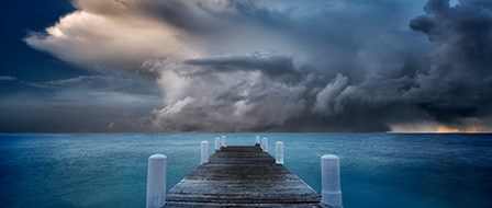 Pier by Dennis Frates art print