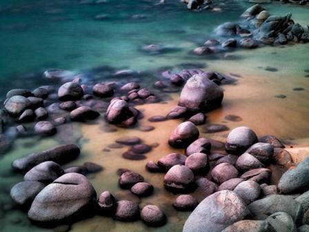 Rocky Beach by Dennis Frates art print