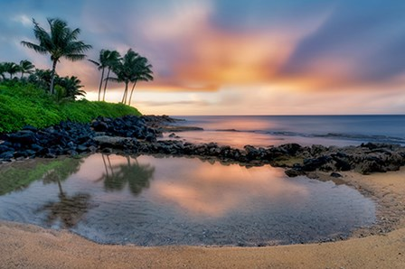 Sunset Cove II by Dennis Frates art print