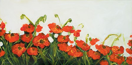 Poppies by Melissa Lyons art print