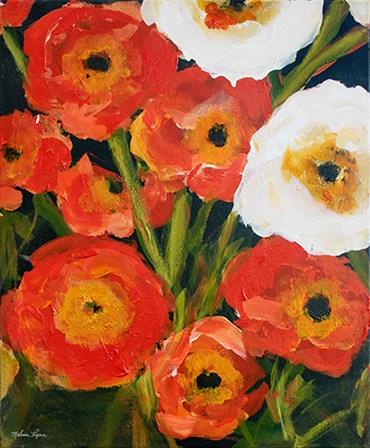 Poppies by Melissa Lyons art print