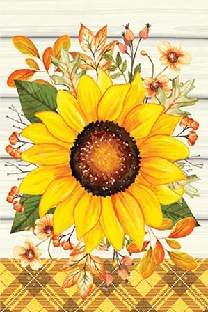 Sunflower by ND Art & Design art print