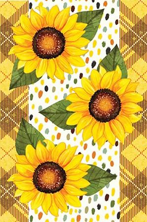 Sunflowers by ND Art & Design art print