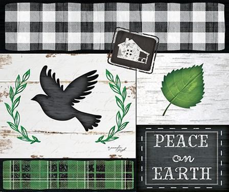 Peace on Earth by Jennifer Pugh art print