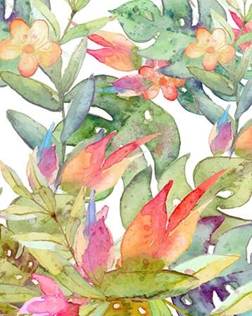 Tropical Watercolor by Tamara Robinson art print
