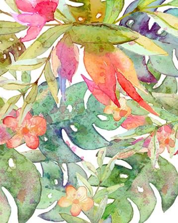 Tropical Watercolor II by Tamara Robinson art print