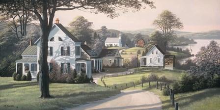 Reminiscing by Bill Saunders art print