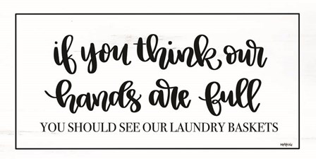 Laundry Baskets by Imperfect Dust art print