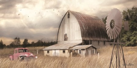Henderson Bay Farm by Lori Deiter art print
