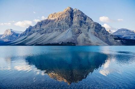 Mountain Reflecting In Lake At Banff National Park, Alberta, Canada by Panoramic Images art print
