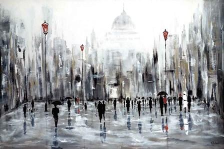 Grande Ville by Aziz Kadmiri art print