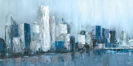 Citylines by Cy Jones art print