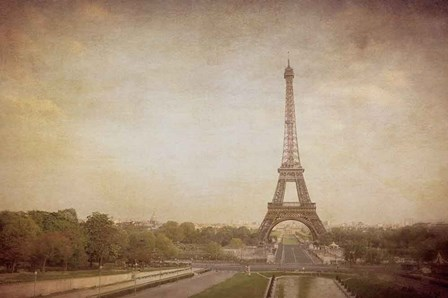 Tour de Eiffel by Heather Jacks art print