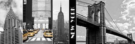 A Glimpse of NY by Jeff Maihara art print