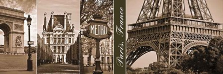 A Glimpse of Paris by Jeff Maihara art print