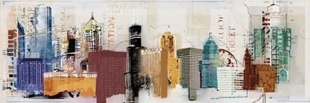 Urban Design by Noah Li-Leger art print