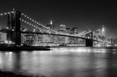 NYC Nights by Nina Papiorek art print