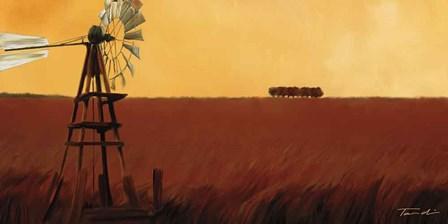 Homeland II by Tandi Venter art print