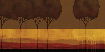 Autumn Silhouettes I by Tandi Venter art print