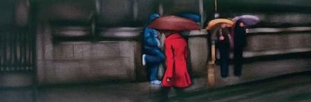 Down On The Street by Xavier Visa art print