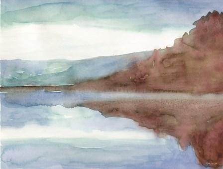 Mountain Lake 7 by Stellar Design Studio art print