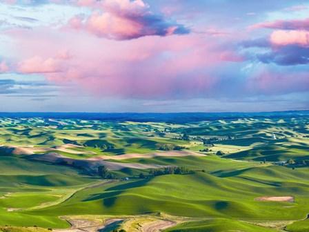 Farmscape Photo I by James McLoughlin art print