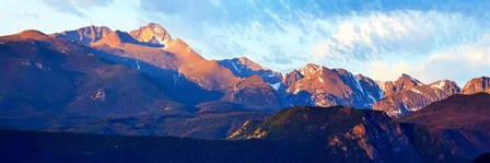 Mountainscape Panorama III by James McLoughlin art print