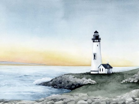 Lighthouse Bay II by Grace Popp art print