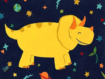 Starry Dinos V by June Erica Vess art print