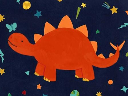 Starry Dinos VI by June Erica Vess art print