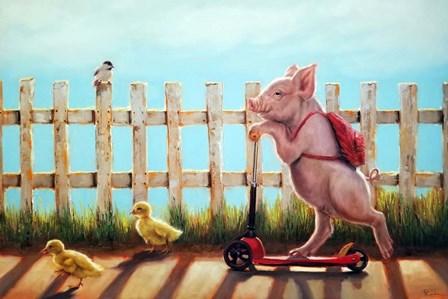 Summer Stroll by Lucia Heffernan art print
