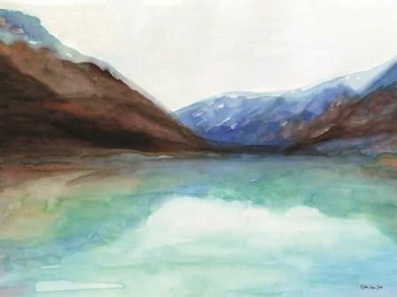 Mountain Lake 6 by Stellar Design Studio art print