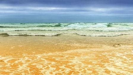 On the Beach by Sossi Madzounian art print
