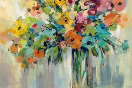 Cloud of Flowers by Silvia Vassileva art print