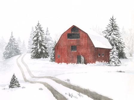 Evergreen Farm I by Grace Popp art print