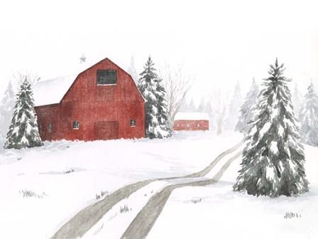Evergreen Farm II by Grace Popp art print