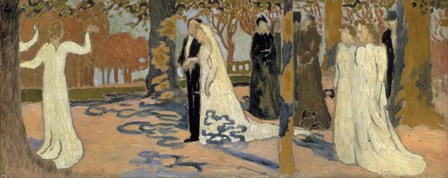 Wedding Procession, c1892-c1893 by Maurice Denis art print