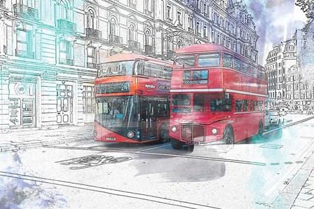 London by A.V. Art art print