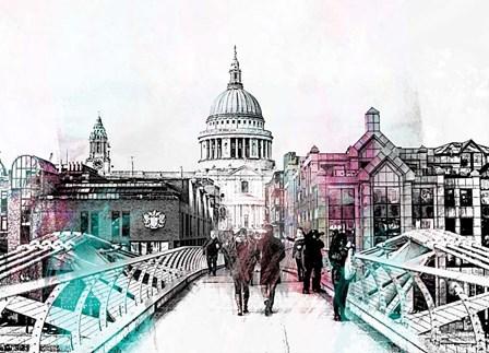 London Bridge by A.V. Art art print