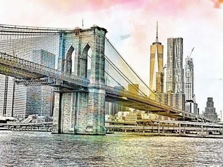 New York by A.V. Art art print