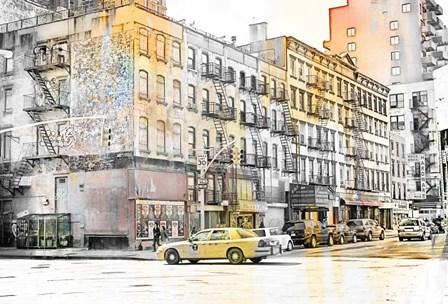 New York II by A.V. Art art print