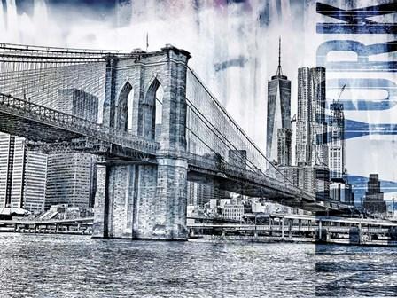 New York III by A.V. Art art print