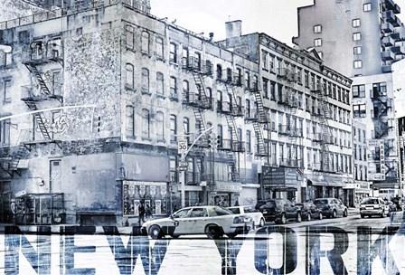 New York IV by A.V. Art art print